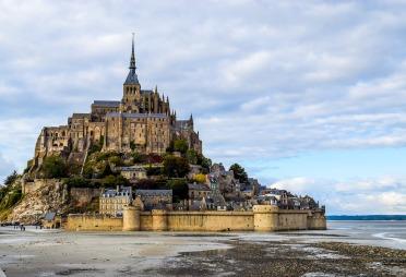 Mont Saint Michel, Franta
