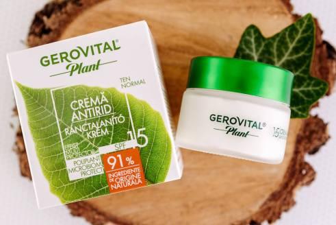 Crema antirid SPF15 Gerovilal Plant