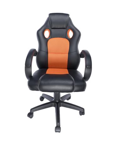 Spacer scaun gaming oranj